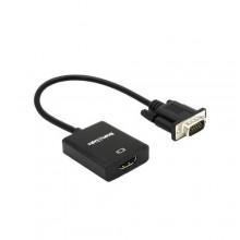 VGA to HDMI 3.0 Converter