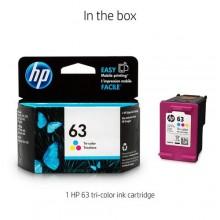 Hp 63 Ink Cartridge - Color