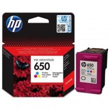 Hp 650 Ink Cartridge - Tri Color