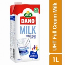 Dano UHT Full Cream Milk - 1 Litre - (3.5%)