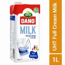 Dano UHT Full Cream Milk - 1 Litre - (3.5%)