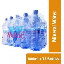 Voltic Mineral Water - 500ml x 15 Bottles