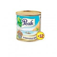 Peak Evaporated Milk - 170g x 12