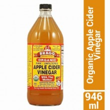 Bragg Organic Apple Cider Vinegar with The Mother - 946ml