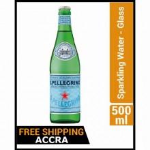 San Pellegrino Sparkling Water - Glass - 500ml