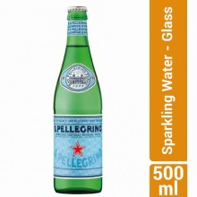 San Pellegrino Sparkling Water - Glass - 500ml