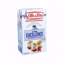 Elle & Vire Excellent Whipping Cream - 35% Fat - 1L