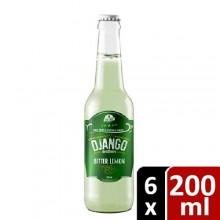 Django Brothers Bitter Lemon - 200ml x 6 Bottles