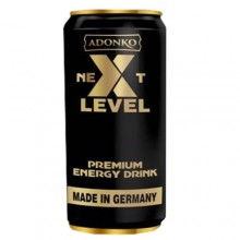 Adonko Bitters Next Level Energy Canned Drink - 250ml x 12cans