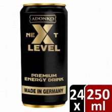 Adonko Bitters Next Level Energy Canned Drink - 250ml x 24cans