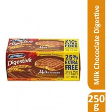 McVities Milk Chocolate Digestive Biscuit - 250g