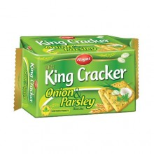 Royal King Cracker Onion & Parsley Biscuit - 77g x 12 Pieces