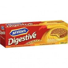McVities Chocolate Caramel Digestive Biscuits - 300g