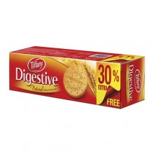 Tiffany Digestive Natural Wheat Biscuits - 400g + 30% Extra