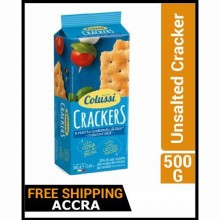 Colussi Unsalted Cracker - 500g