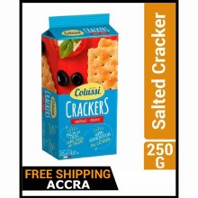 Colussi Salted Cracker - 250g