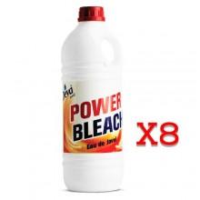 Deva Max Power Bleach - 2 litres x 8
