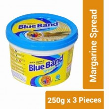 Blue Band Margarine Spread - 250g x 3